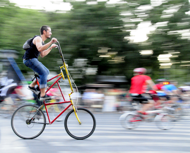 Conocer gente bici seguro esperamos