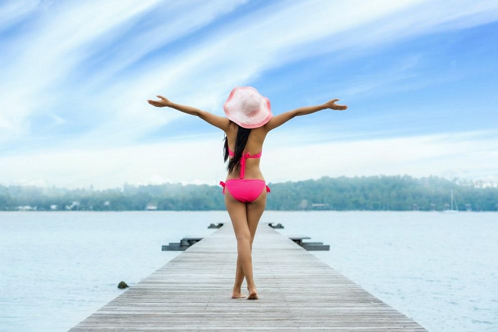 Citas online Maracaibo relajando piernas depilada
