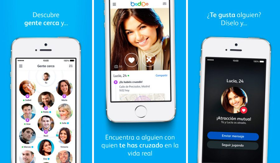 App para conocer gente iphone uniformados